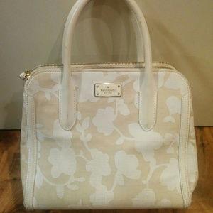 Kate Spade Duncan Tote Handbag Floral Canvas
